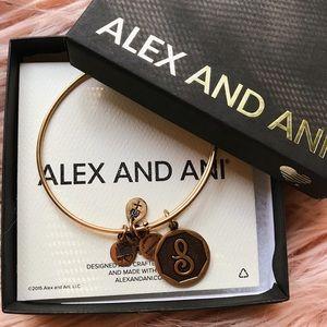 Alex and Ani • S Bracelet